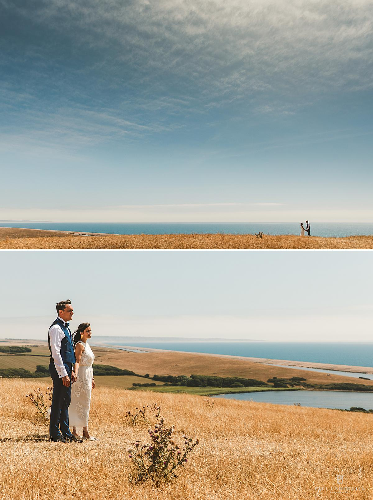 Elopement wedding photographer Dorset