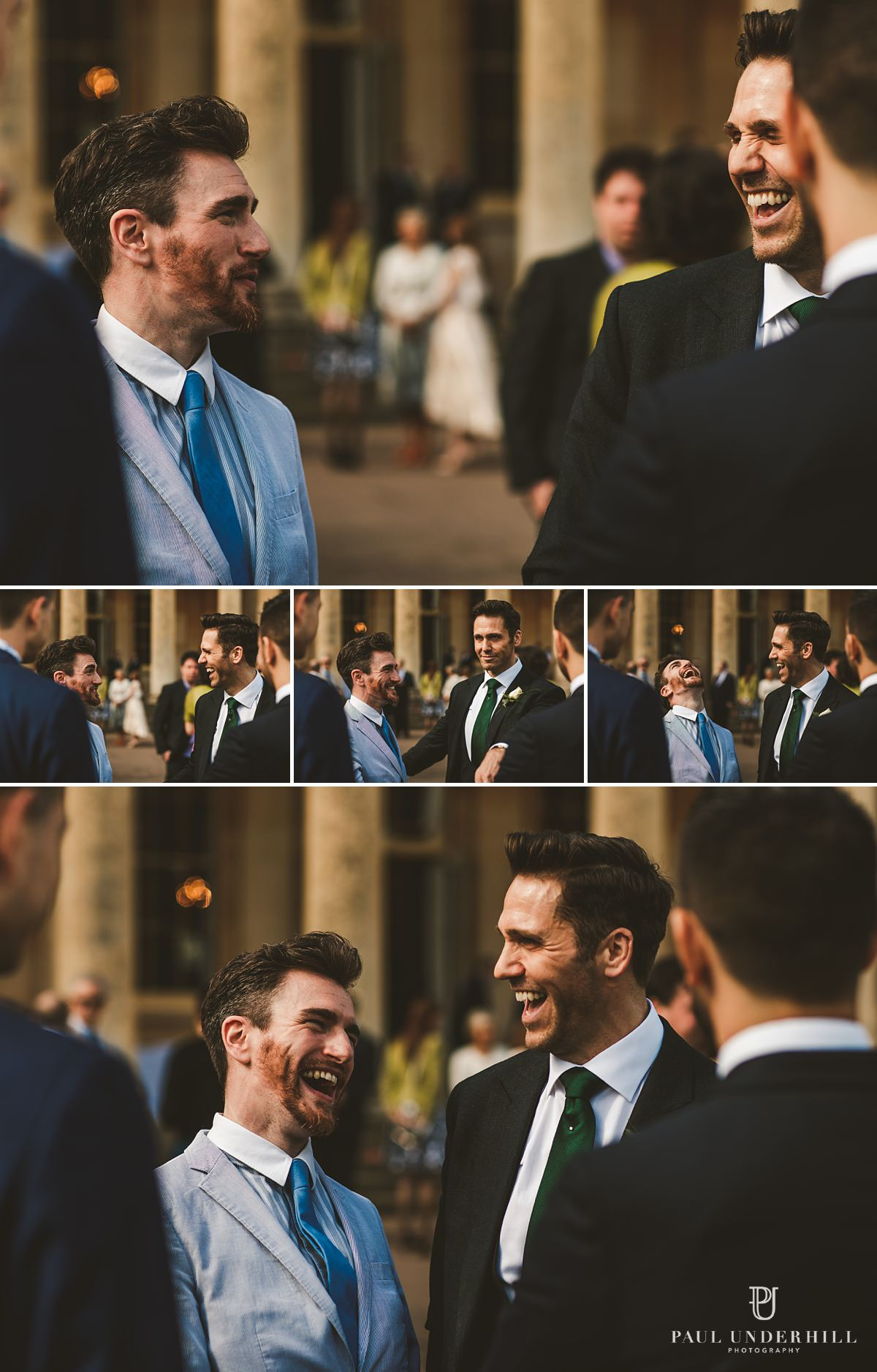 Fun moments gay wedding photography