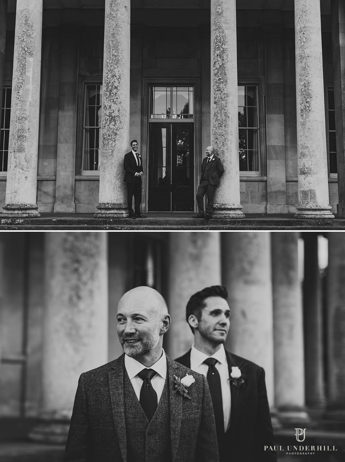 Gay wedding photography portraits