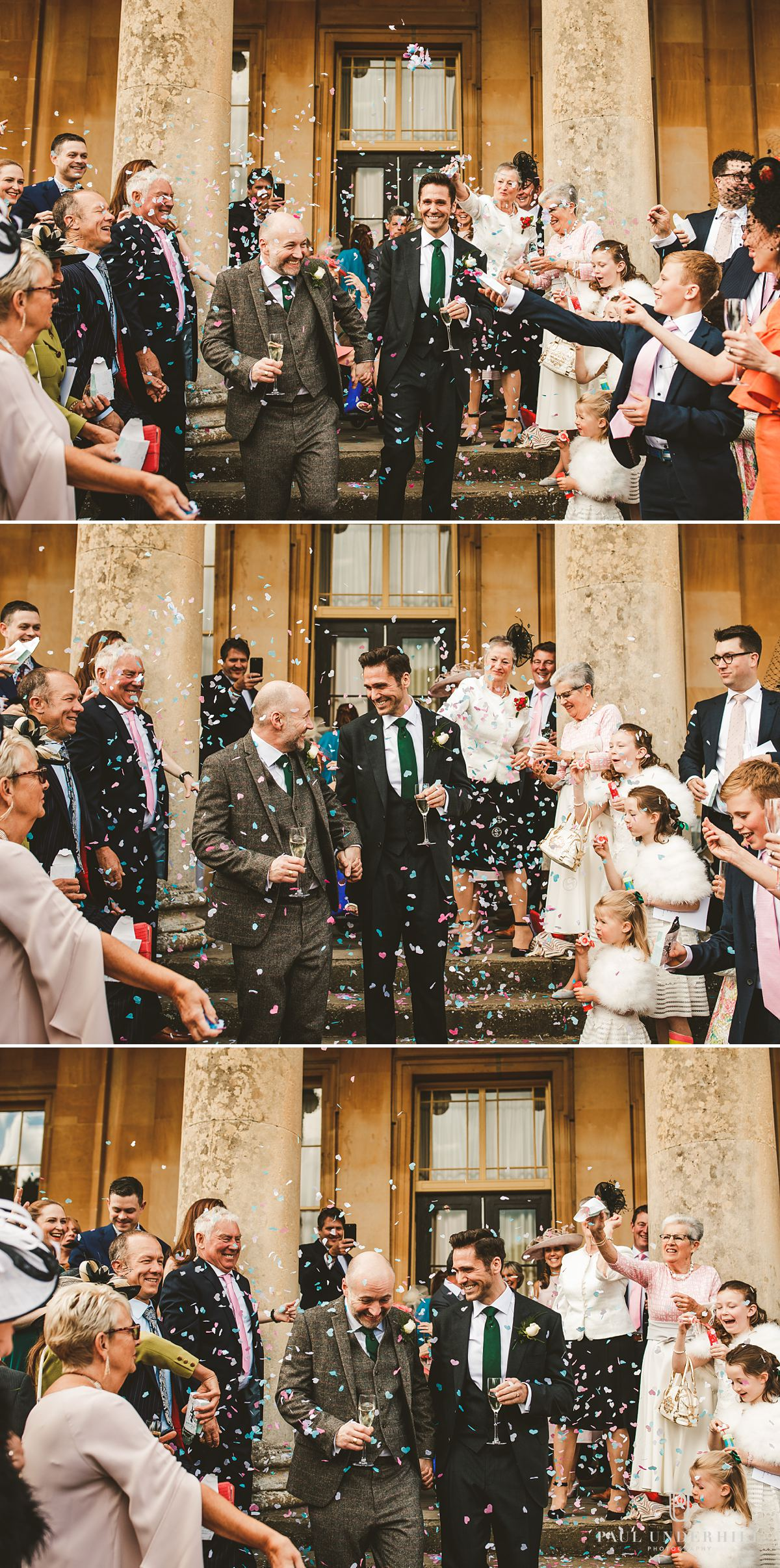 Same-sex gay wedding documentary photography