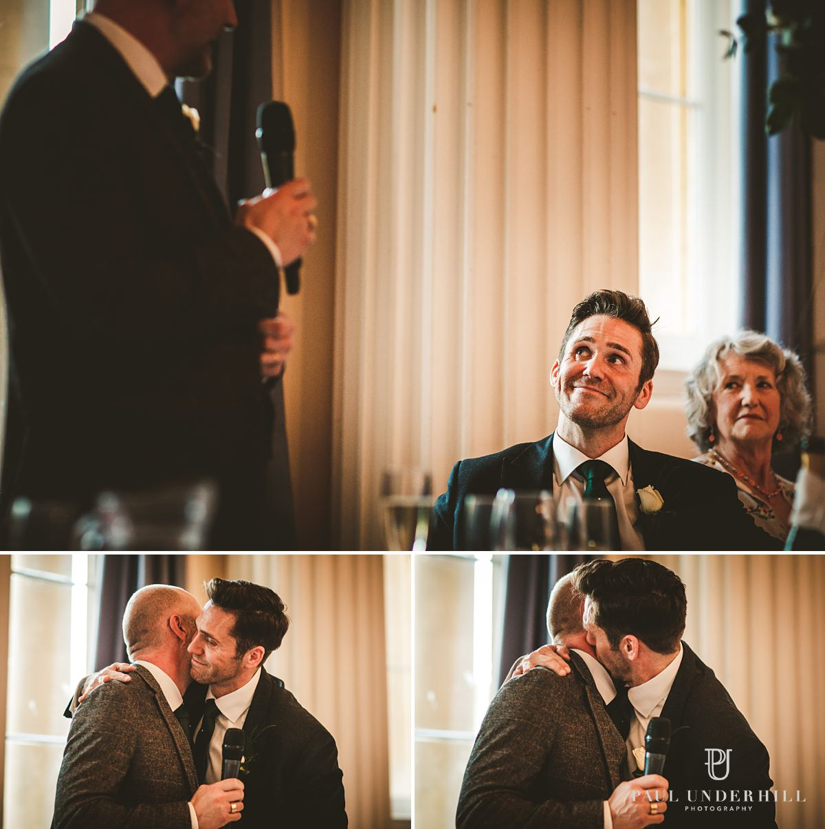 Wedding documentary photography speeches