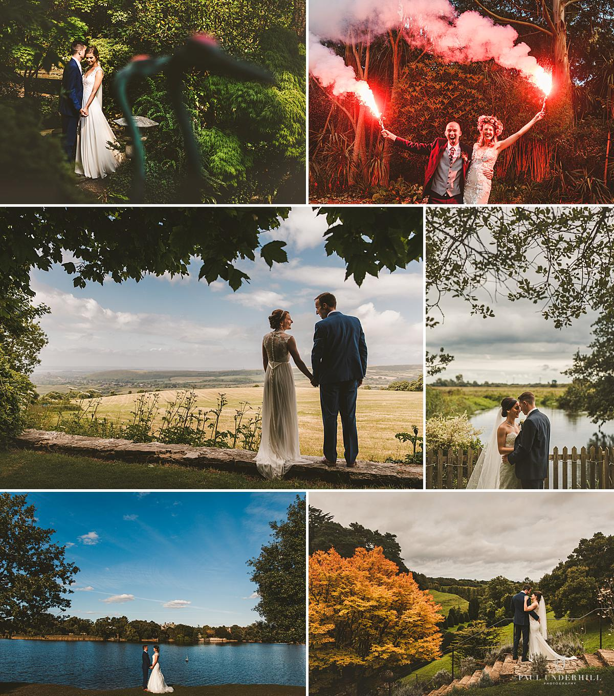Wedding portraits Dorset Hampshire