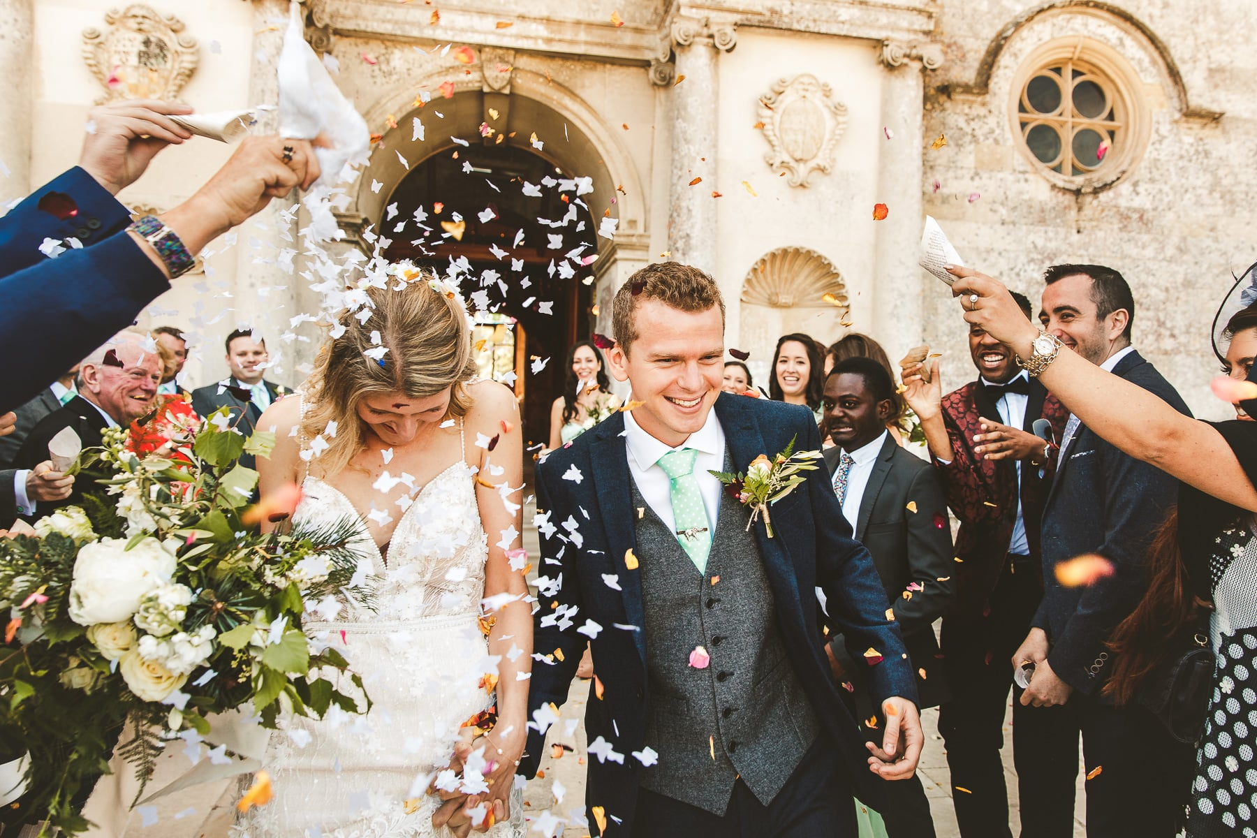 Confetti-wedding-photography-Lulworth-Castle