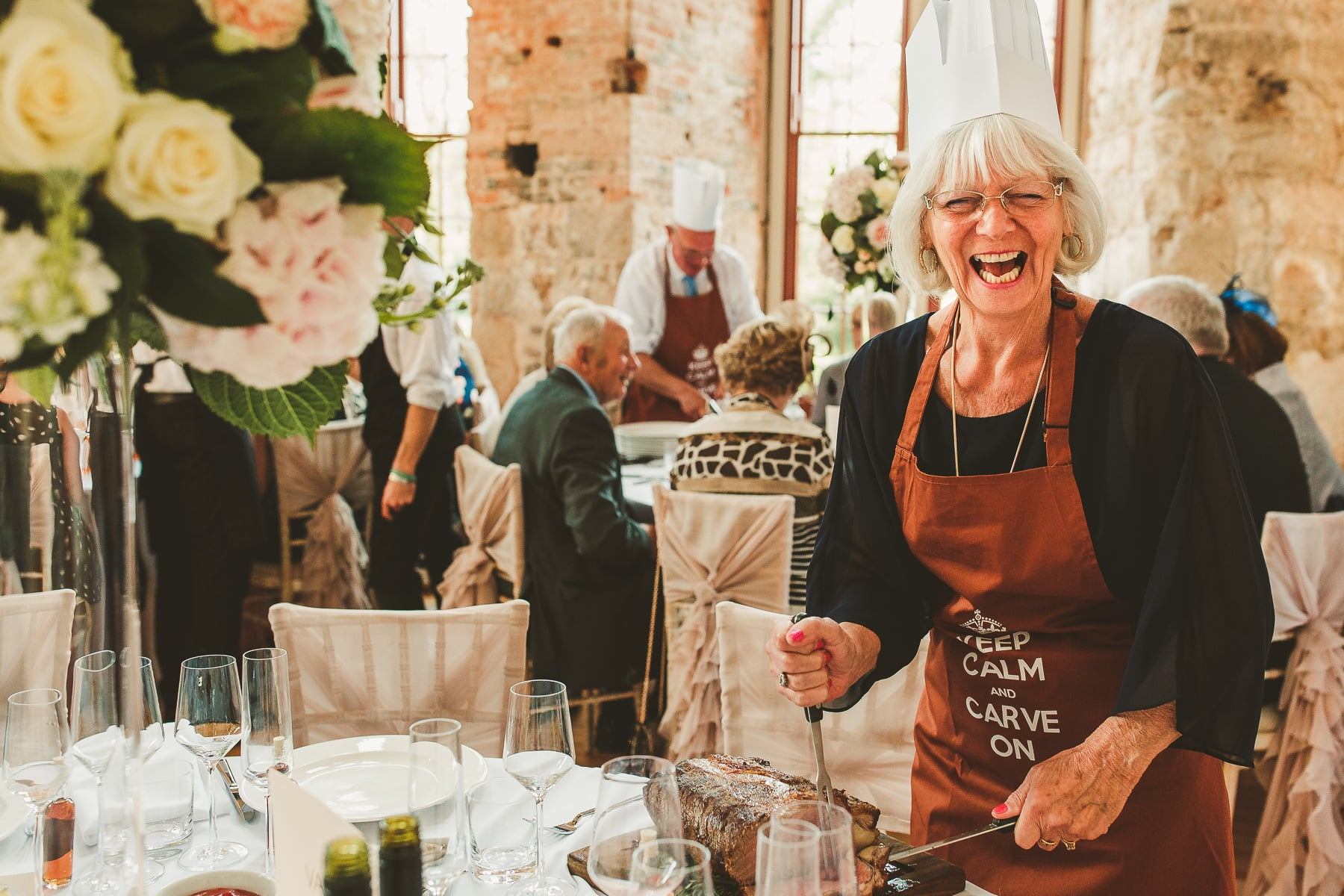 Fun-moments-Lulworth-Castle-wedding