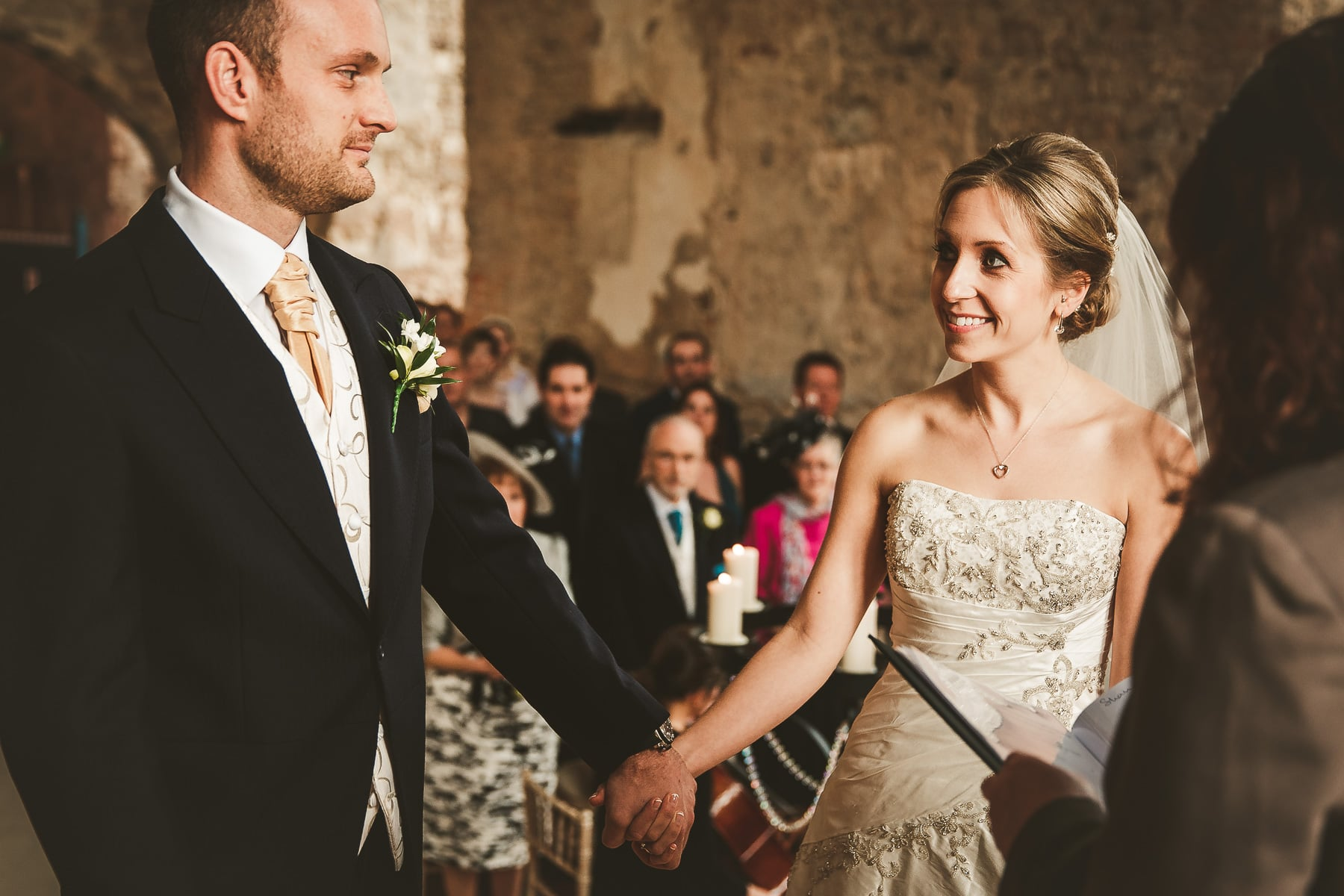 Lulworth-Castle-Dorset-intimate-wedding
