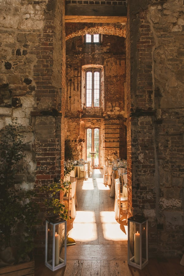 Wedding photography at Lulworth Castle in Dorset