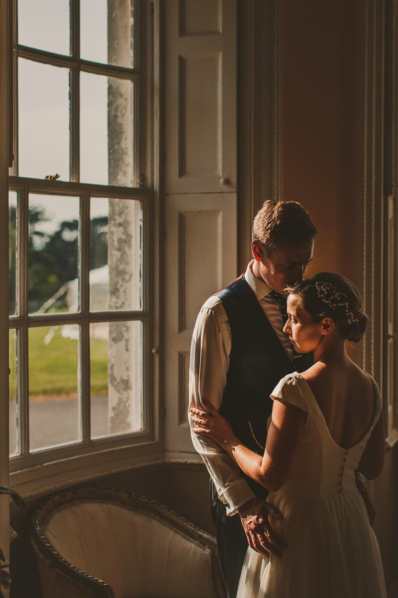 Smedmore House wedding portrait
