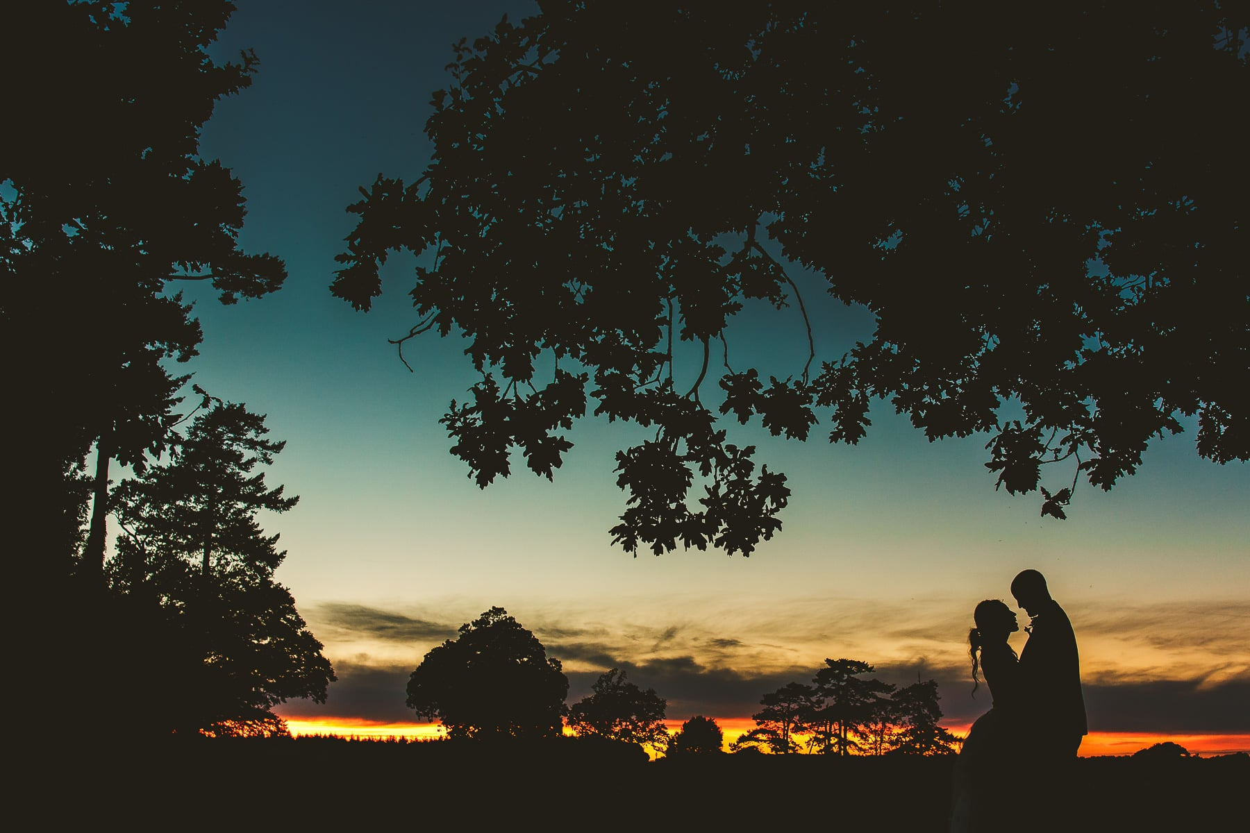 Sunset-portrait-Lulworth-Castle-wedding-photography