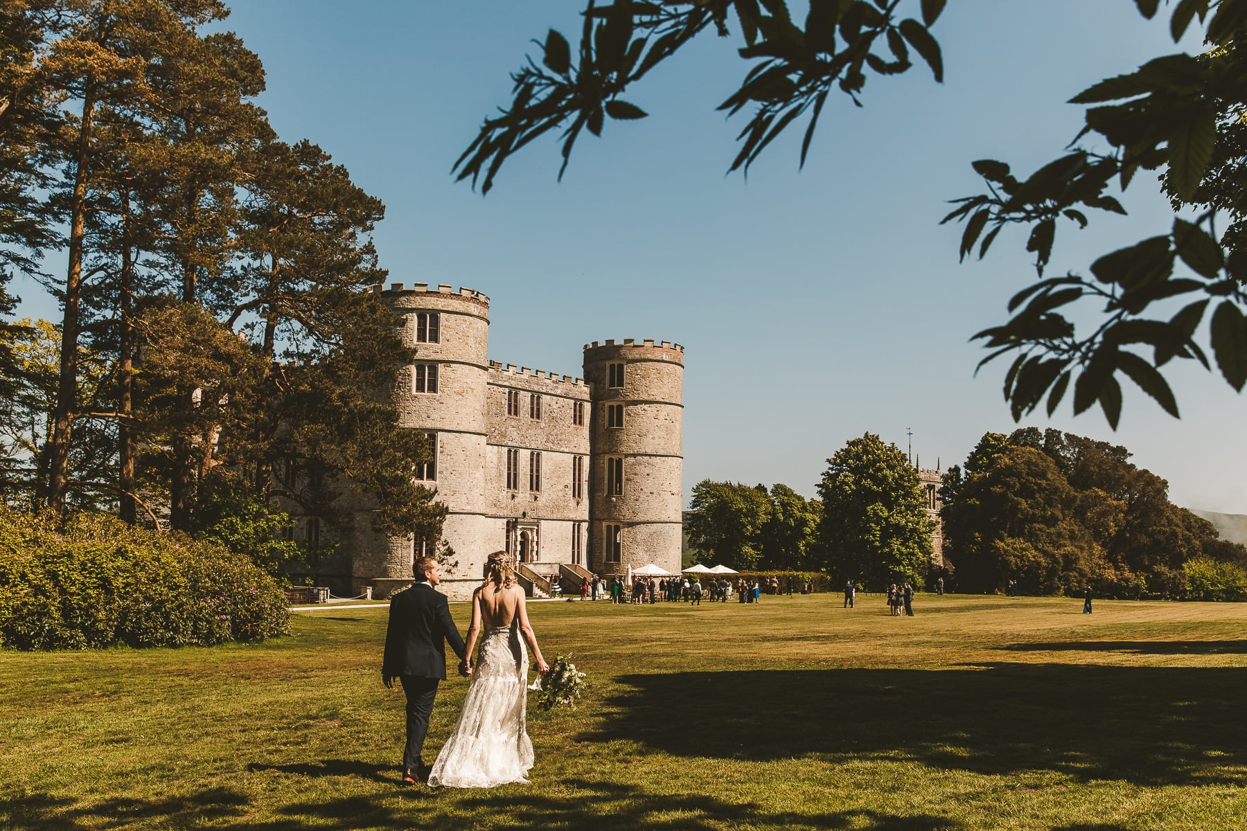Wedding-portrait-Lulworth-Castle
