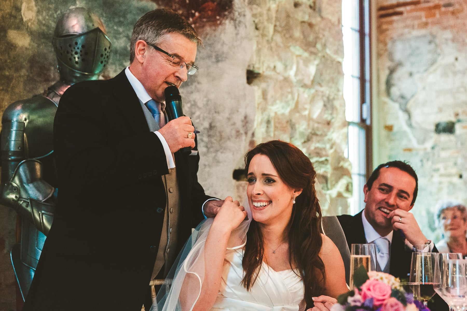 Wedding-speech-Lulworth-Castle-wedding-photography