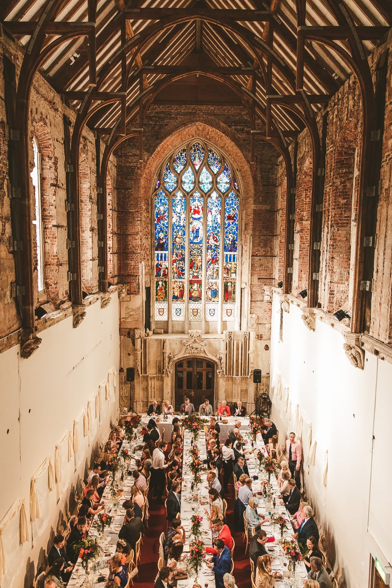 Wedding photography Highcliffe Castle wedding reception