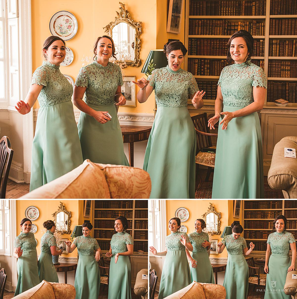 Bridal Party Smedmore House Dorset