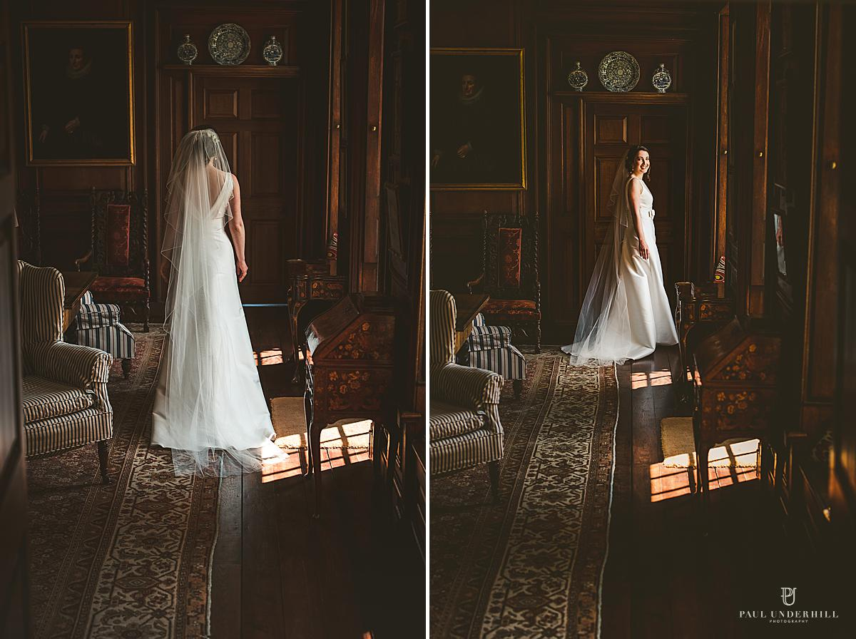 Bride portraits Smedmore House