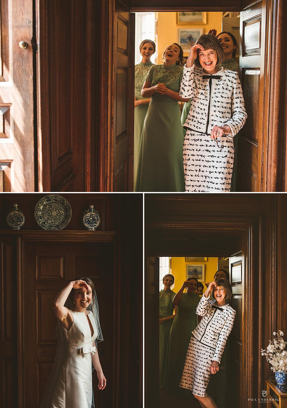 Bride portraits Smedmore House