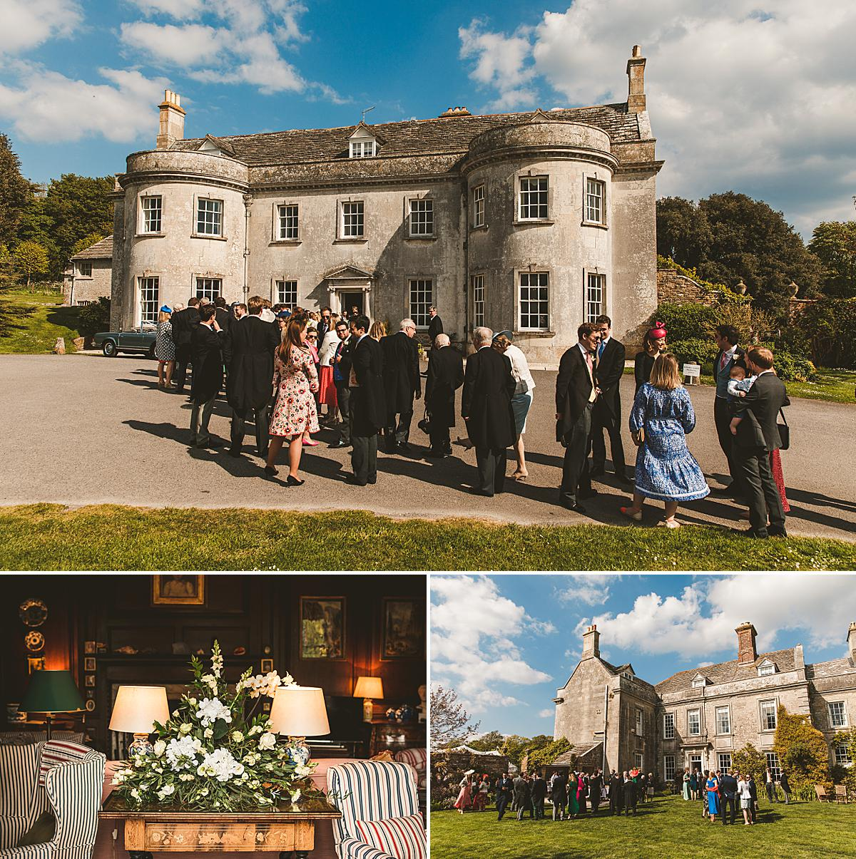 Smedmore House wedding reception photography