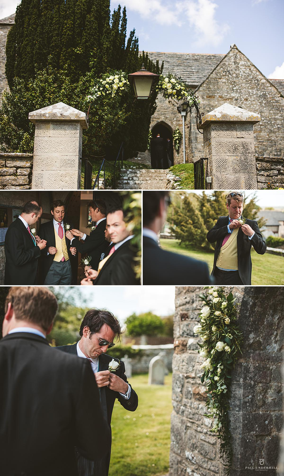 St Peters Church Knowle Dorset wedding