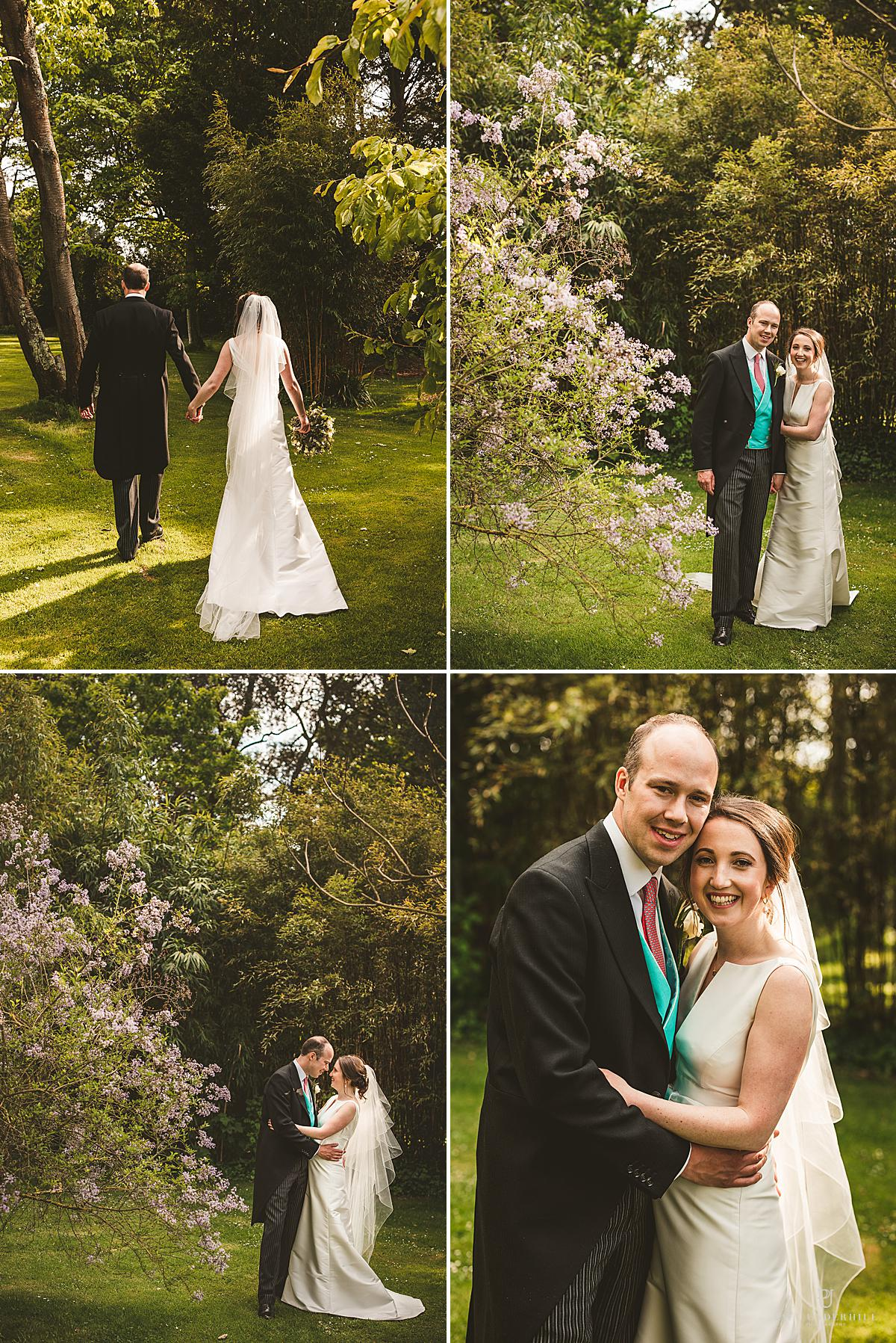 Wedding portraits Smedmore House Dorset