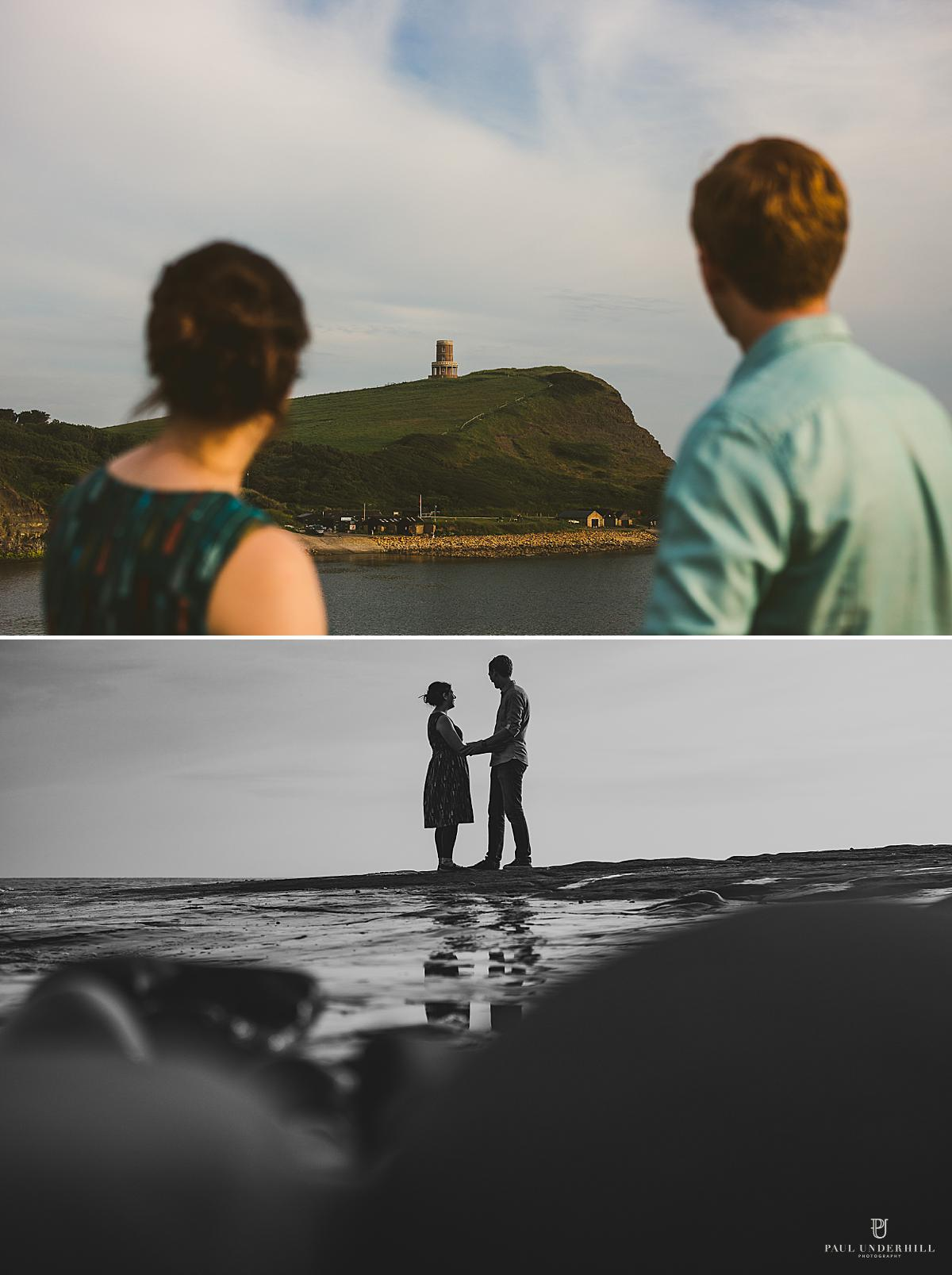 Creative couples portraits Dorset photographer