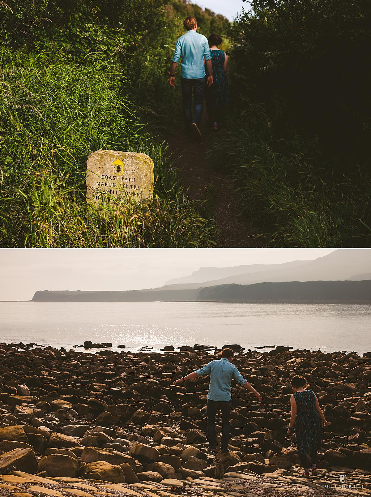 Dorset wedding photographer pre wedding shoot