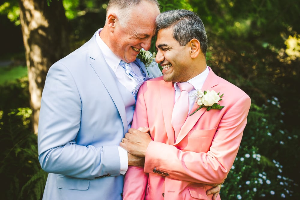 Gay wedding photography in Bournemouth