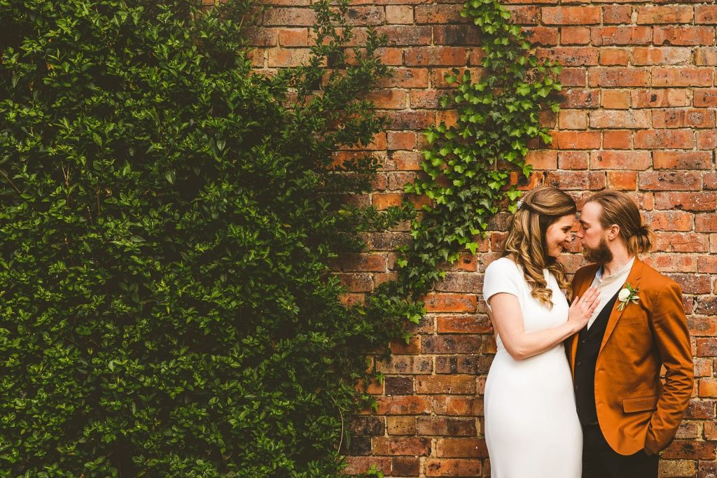 Bride Groom Portrait Bournemouth wedding photography