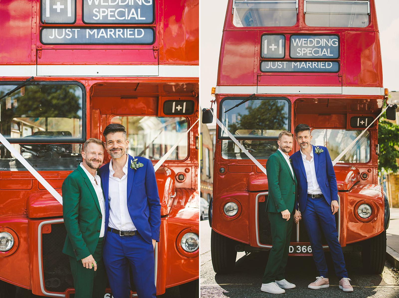 Grooms wedding-portrait London