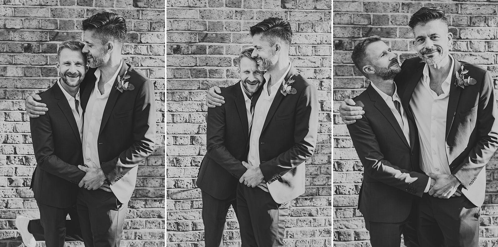 London wedding photography grooms portraits