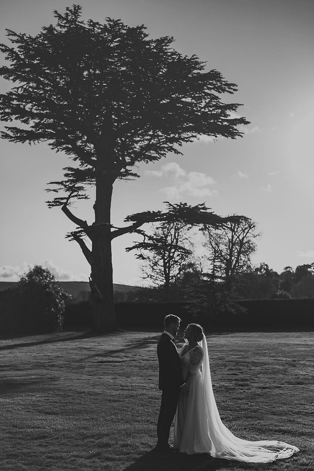 Lulworth Castle wedding portraits