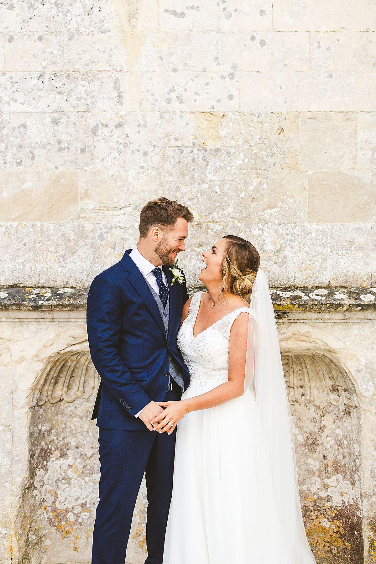 Lulworth Castle wedding portrait photography
