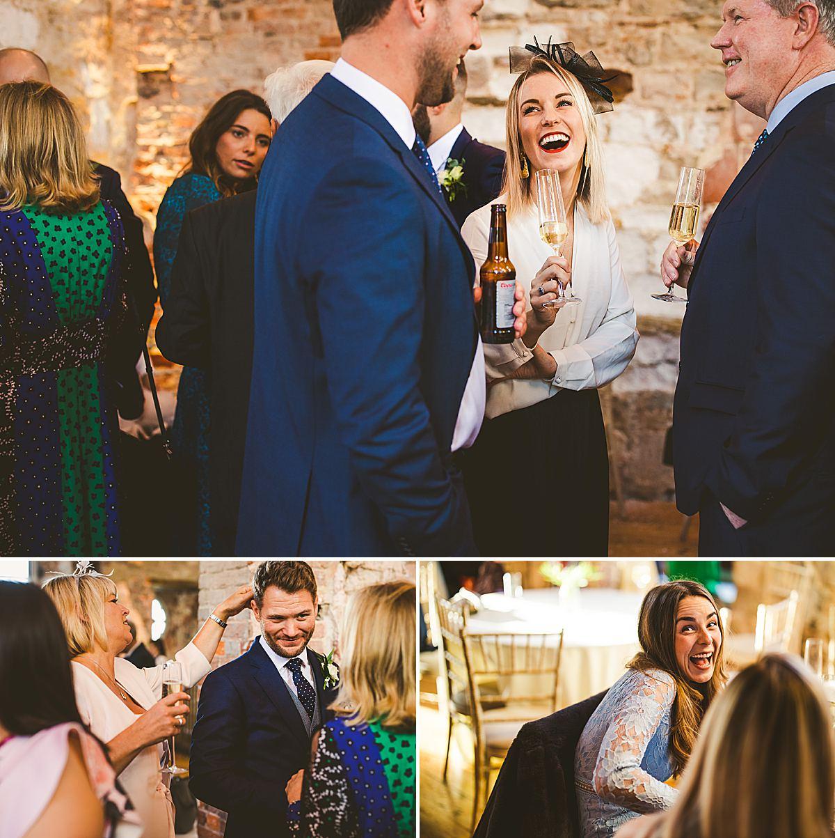 Lulworth Castle wedding reception