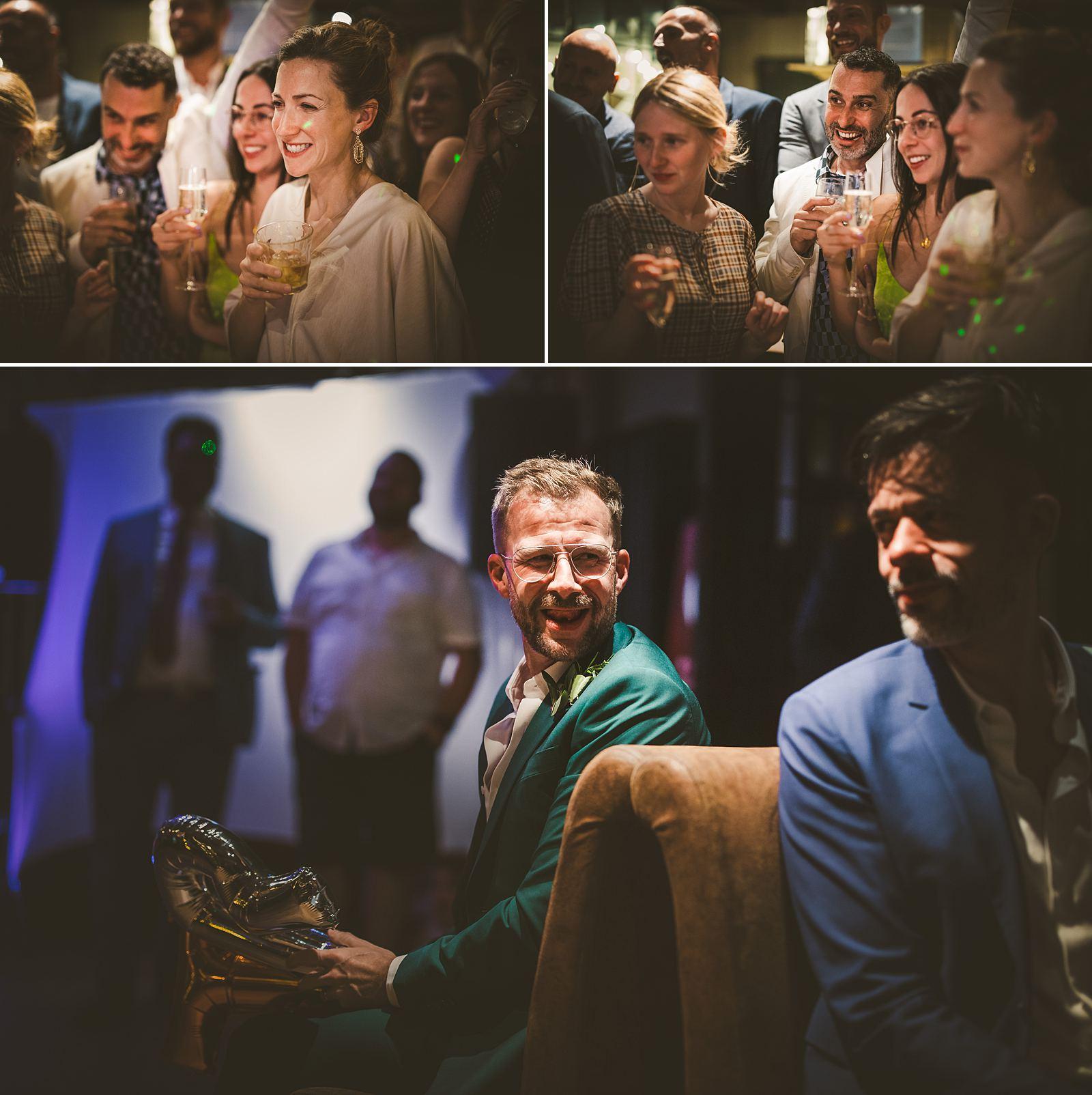 Reportage wedding photography London