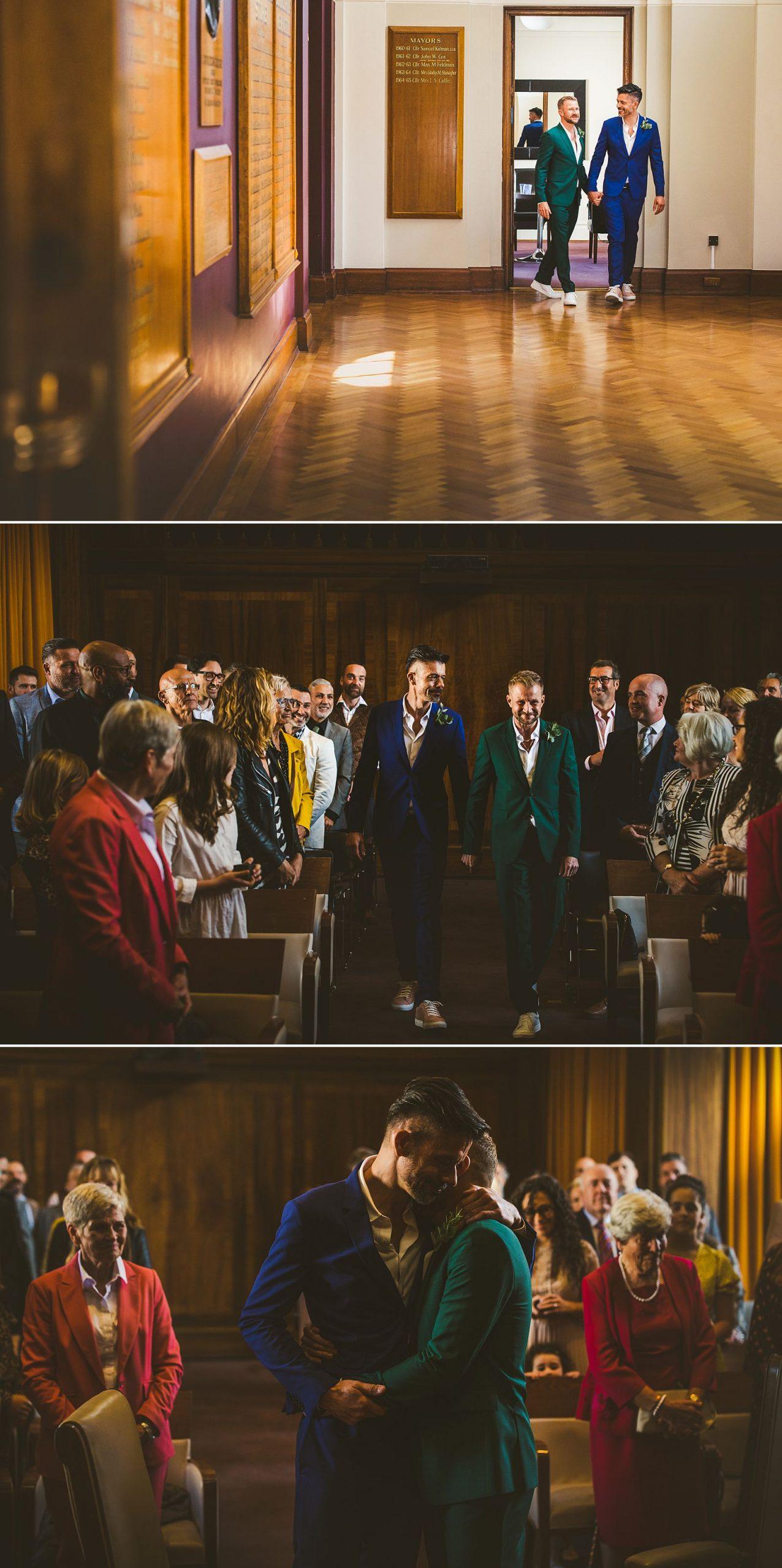 Stoke Newington Town Hall wedding London