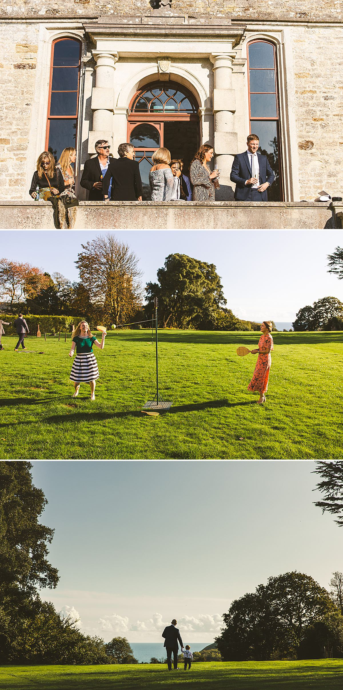 Wedding photography Lulworth Castle Dorset