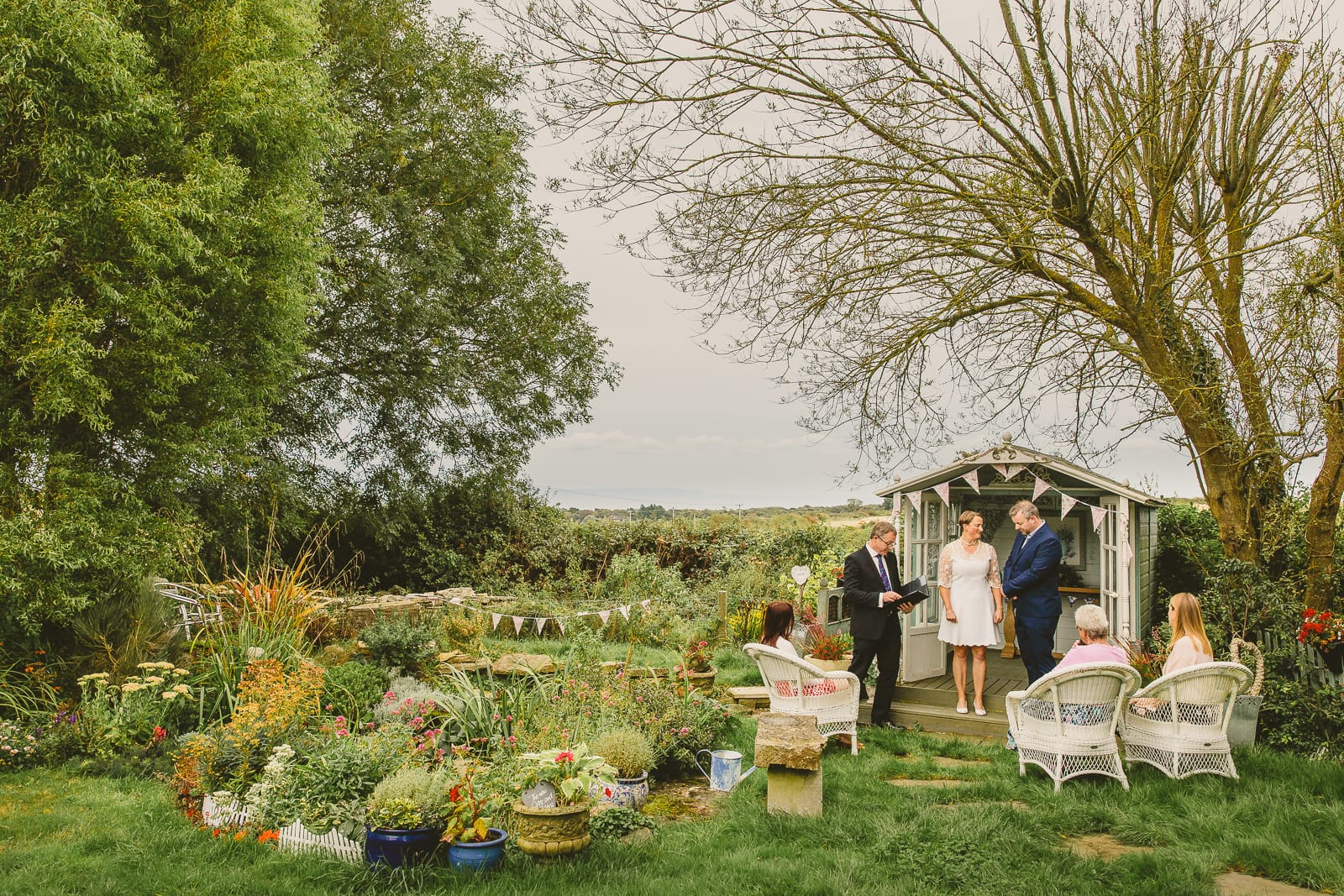 Intimate Dorset wedding ceremony