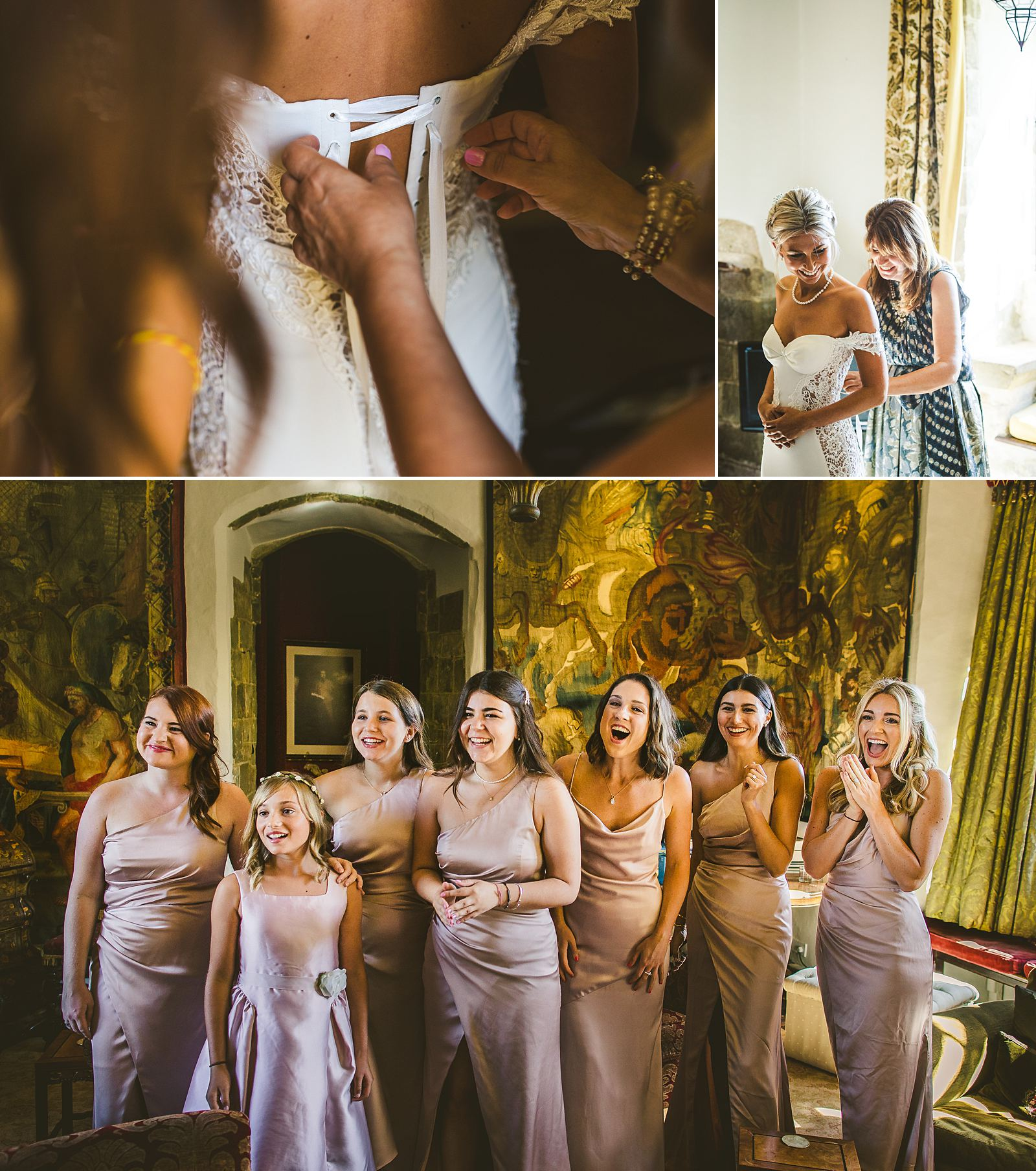 Documentary wedding photography Larmer Tree Gardens