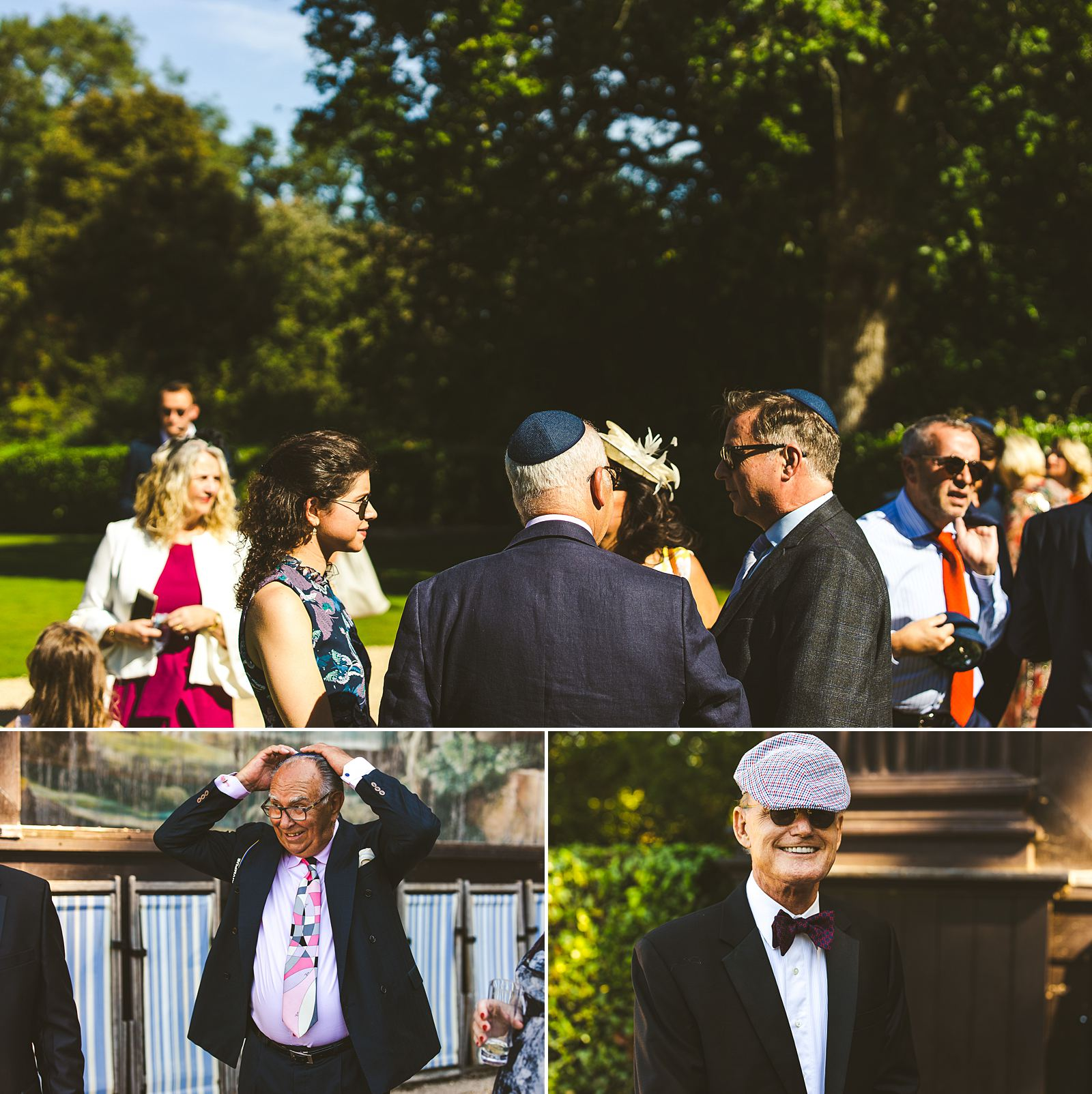 Jewish wedding at Larmer Tree