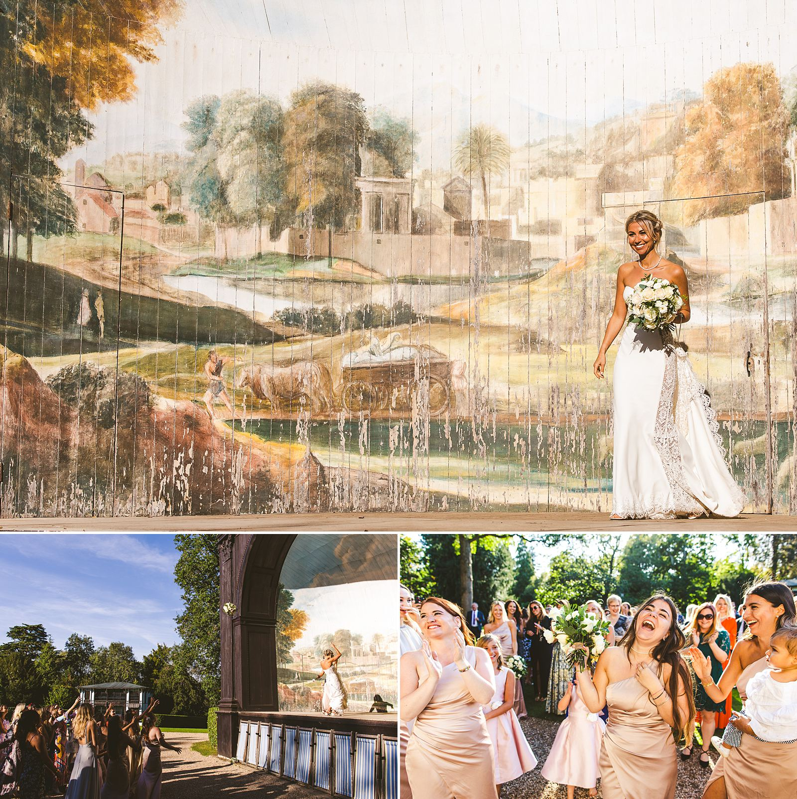 Larmer Tree Gardens summer wedding