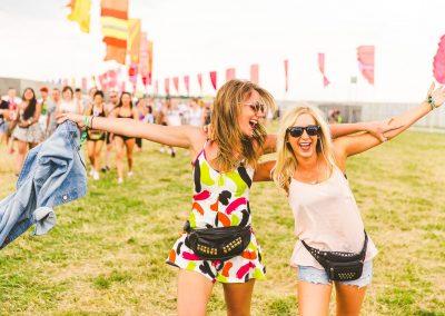 Lifestyle portraits women at festivals