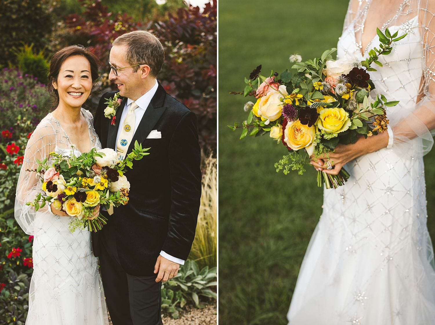 Wedding bouquet styling ideas St Giles House