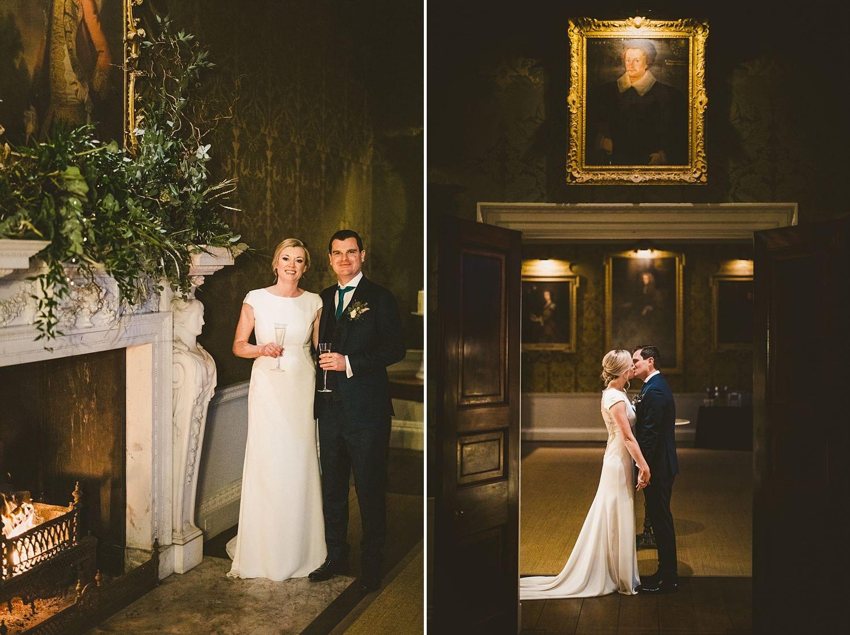 St Giles House wedding portraits