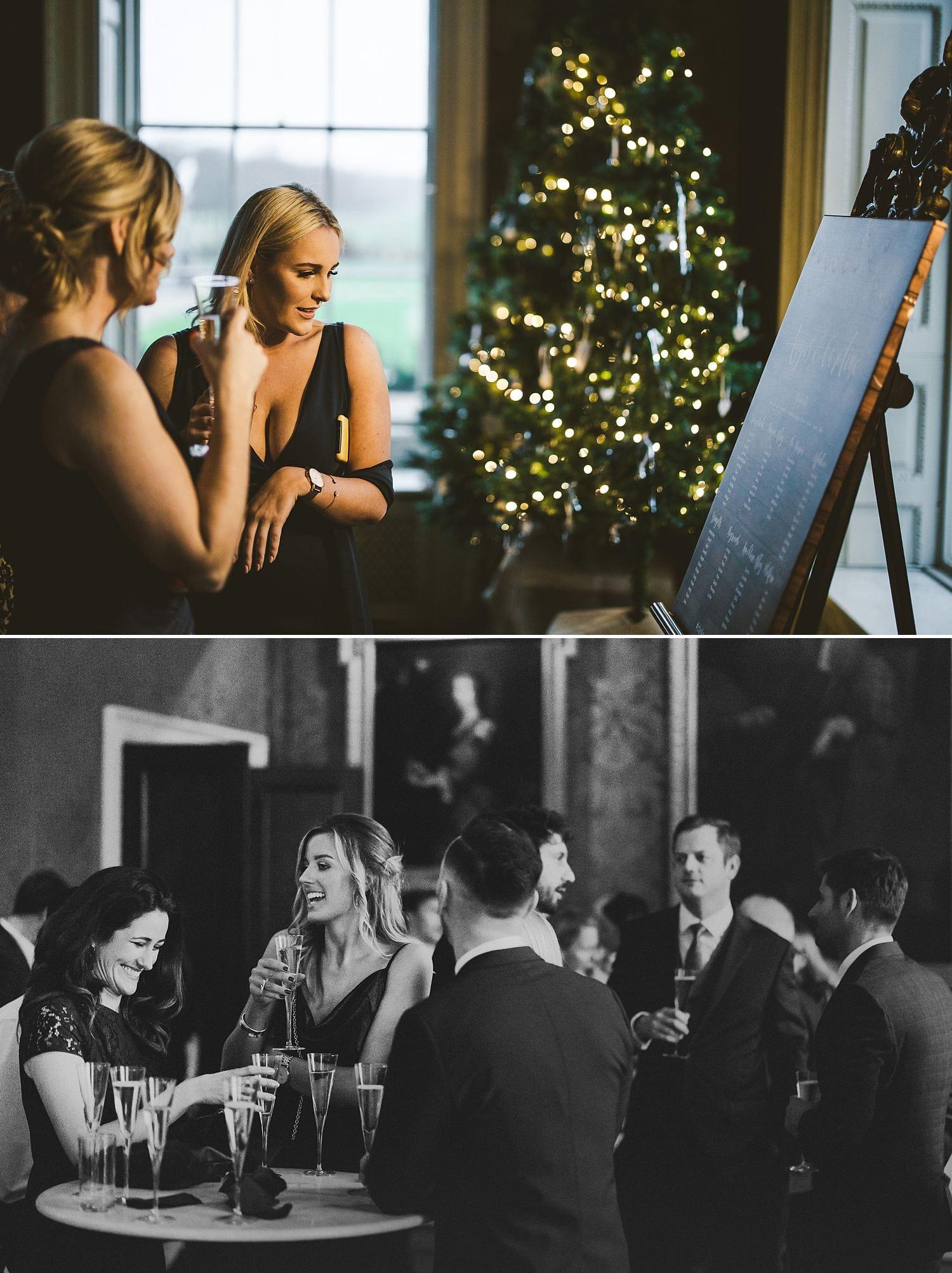 St Giles House wedding reception