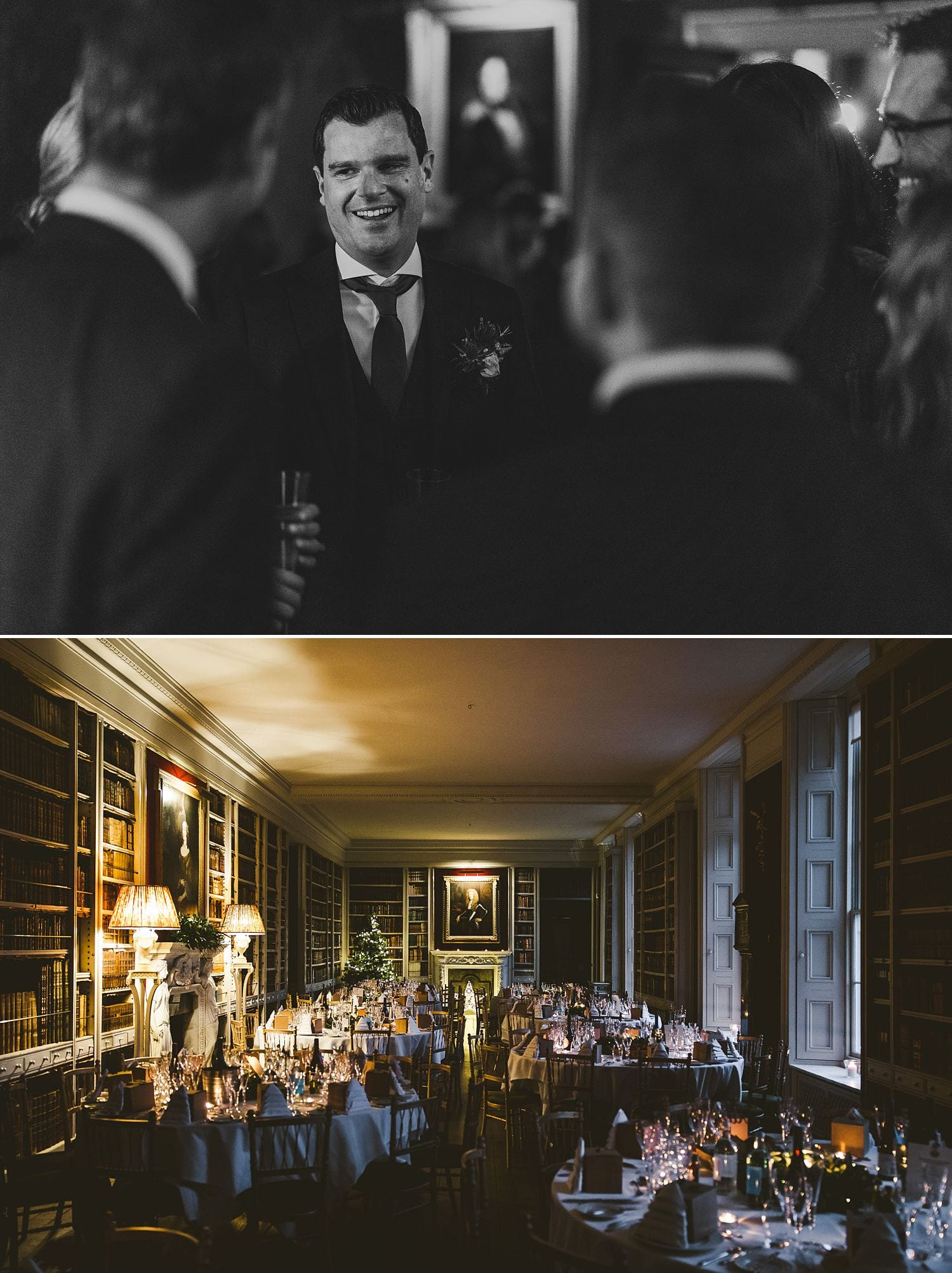 St Giles House wedding reception