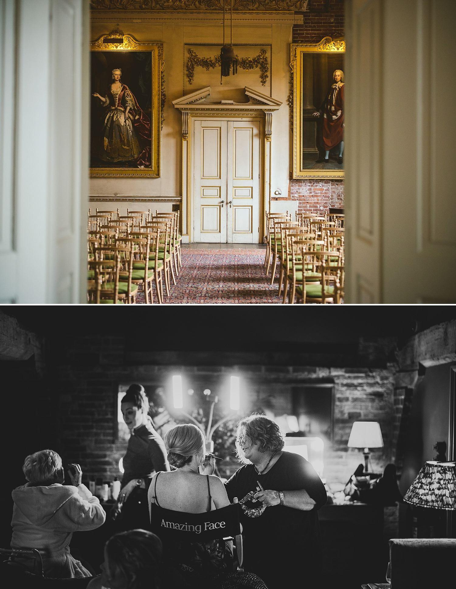 Winter wedding St Giles House Dorset 00004